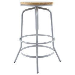 Rotating industrial stool high