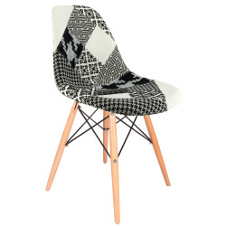 Polsterstuhl Design DSW Patchwork