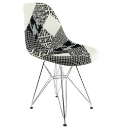 Eames DSR Patchwork Stuhl