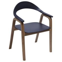 Armlehnstuhl Holz Design Sedano