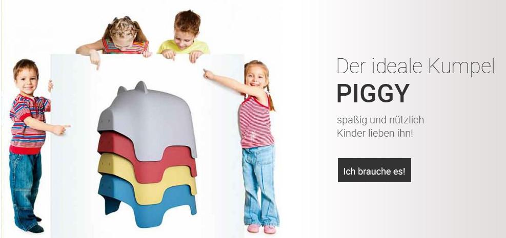 Designer Stuhl Kinderhocker Piggi